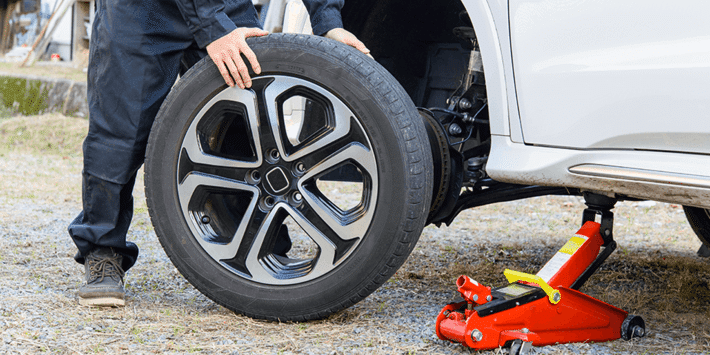 Cambio pneumatici fai da te