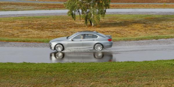 Comparativo pneumatici estivi sul bagnato di Autobild 2020