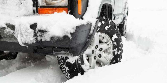 Gomme invernali su un veicolo a trazione 4x4