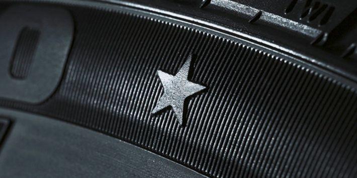 Marcatura di pneumatici omologati BMW
