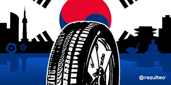 Le principali marche di pneumatici della Corea del Sud.