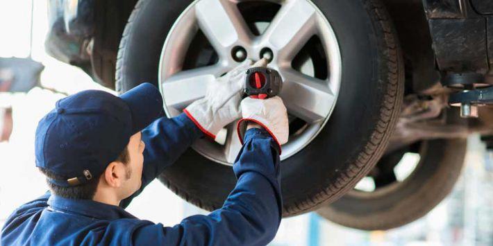 Montare pneumatici di misure differenti