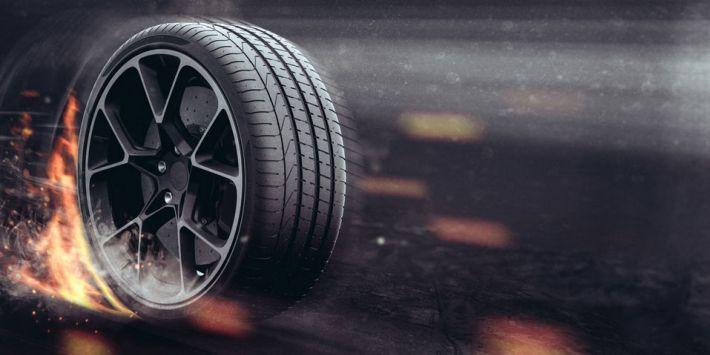 Grande performance su strada dello pneumatico