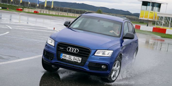 Test pneumatici all saisons AutoBild Allrad Audi Q5