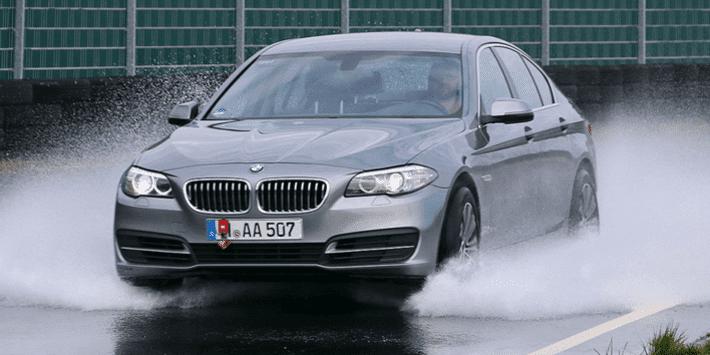 Test pneumatici estivi 2020 di Auto Bild su BMW Serie 5