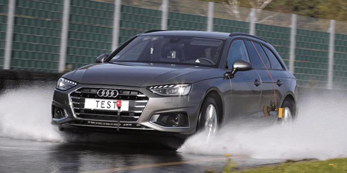 Test pneumatici estivi: comparativo ADAC e TCS per berline e station wagon su fondo bagnato