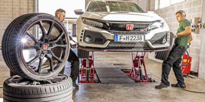 Test pneumatici UHP Sport Auto Honda Civic Type R