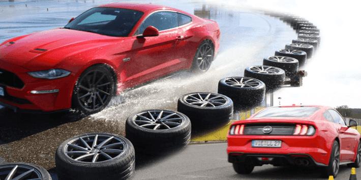 Test pneumatici estivi sportivi 2021: Auto Bild confronta i migliori pneumatici sportivi per Mustang GT