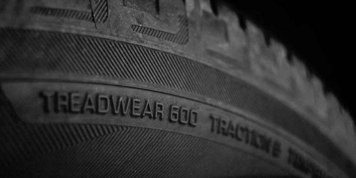 Codici UTQG sugli pneumatici