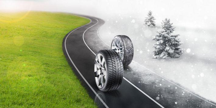 Si può viaggiare con pneumatici invernali in estate?