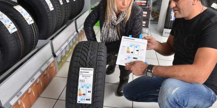 I 3 criteri di valutazione riportati sull'etichetta europea degli pneumatici