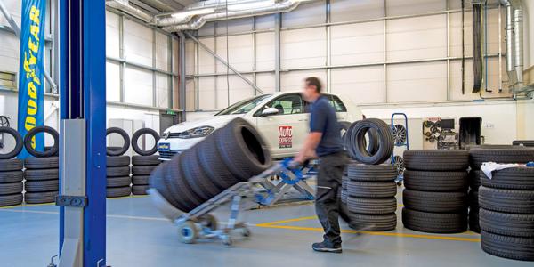 Migliori pneumatici estivi 2021: test comparativo, il montaggio degli pneumatici di Auto Express